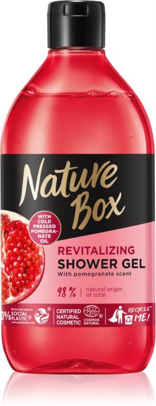 Nature Box Pomegranate Energizing Shower Gel