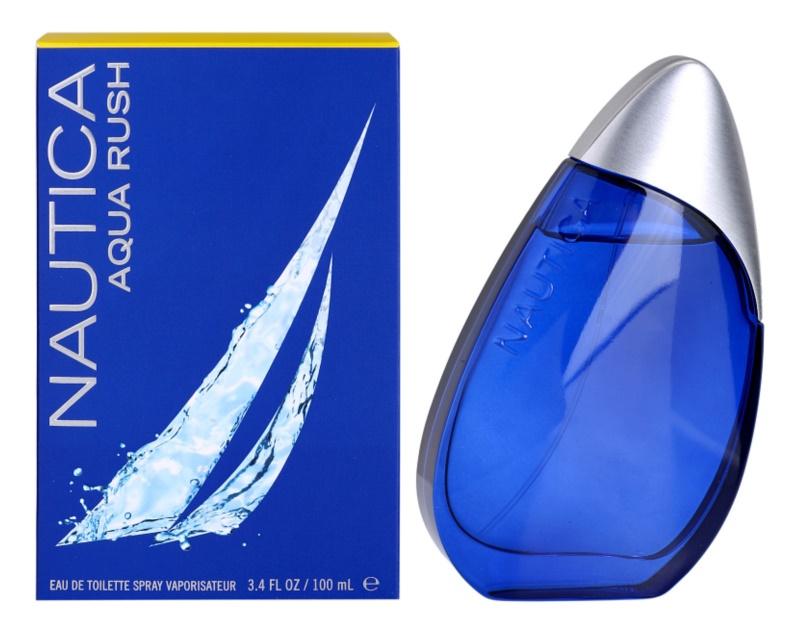 Nautica Aqua Rush eau de toilette per uomo 100 ml