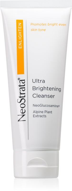 NeoStrata Enlighten rozjasňující čisticí krém s výtažky z alpských rostlin