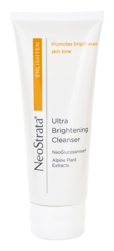 NeoStrata Enlighten rozjasňujúcí čistiaci krém s výtažkami z alpských rastlín