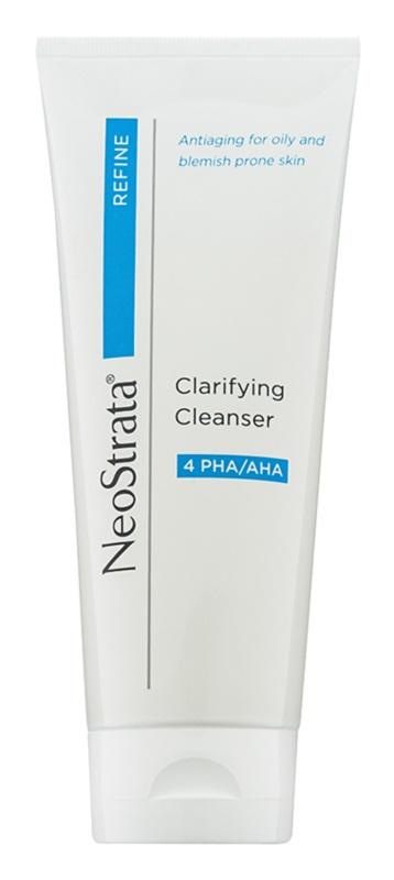 NeoStrata Refine żel oczyszczający do skóry  tłustej