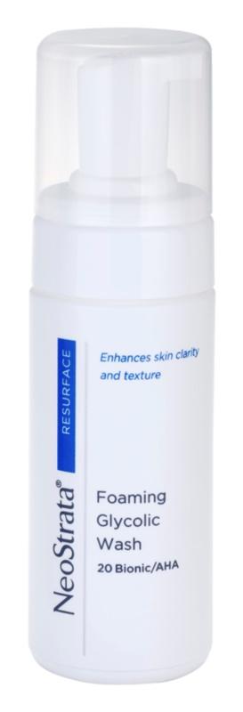 NeoStrata Resurface espuma facial de limpieza profunda
