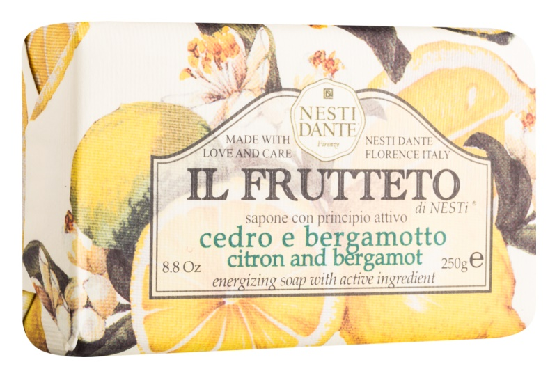 Nesti Dante Il Frutteto Citron and Bergamot săpun natural
