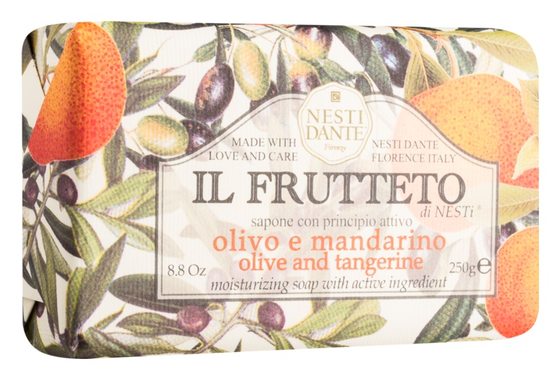 Nesti Dante Il Frutteto Olive and Tangerine натуральне мило