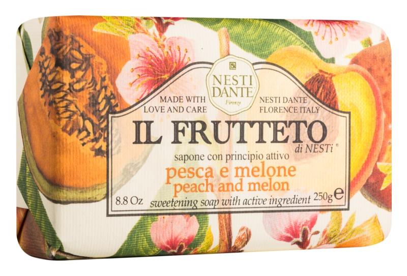 Nesti Dante Il Frutteto Peach and Melon Natural Soap