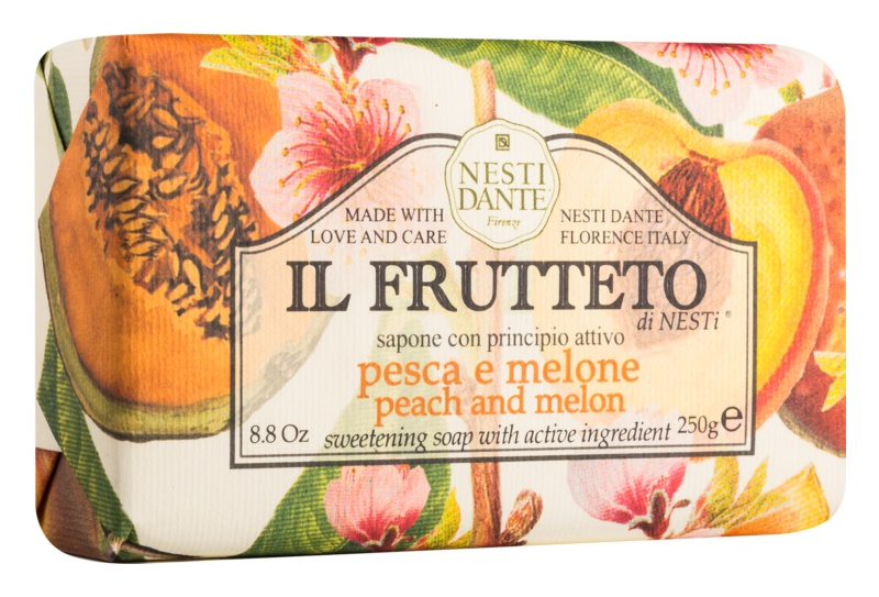Nesti Dante Il Frutteto Peach and Melon prírodné mydlo