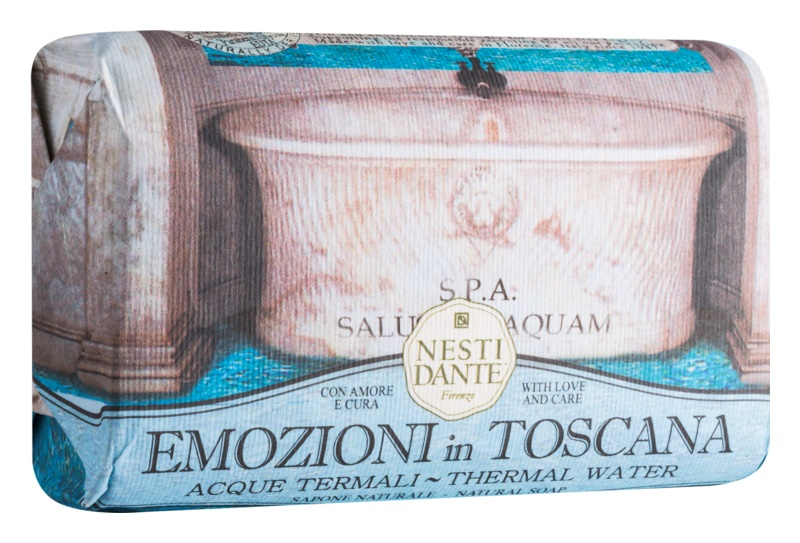 Nesti Dante Emozioni in Toscana Thermal Water Natural Soap