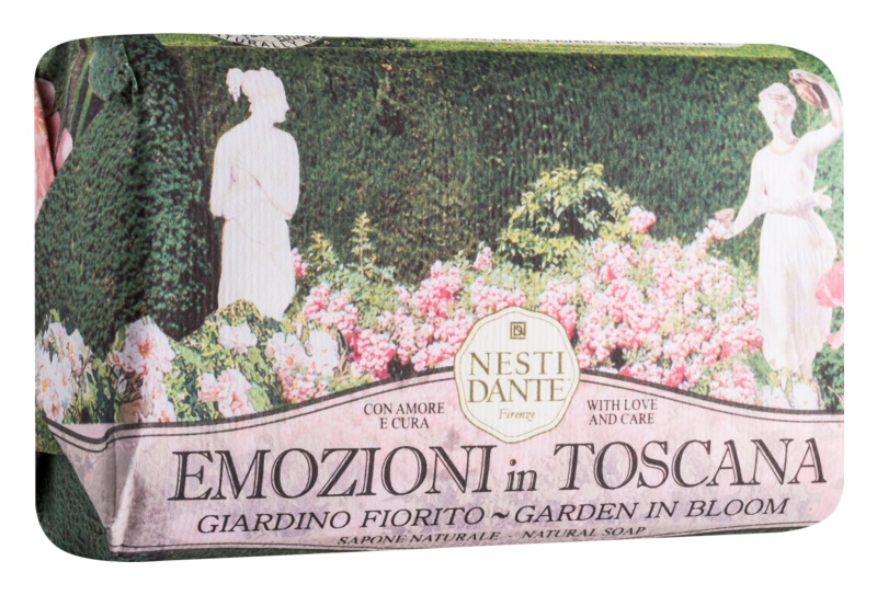 Nesti Dante Emozioni in Toscana Garden in Bloom přírodní mýdlo