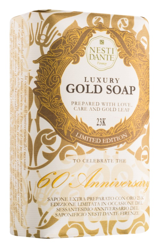 Nesti Dante 60th Anniversary Gold Leaf Luxusseife