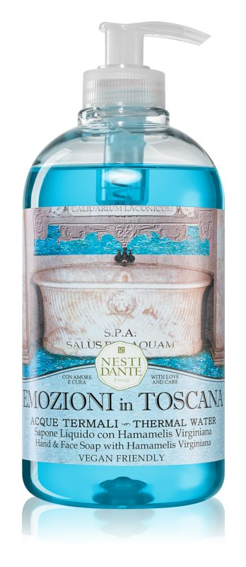 Nesti Dante Emozioni in Toscana Thermal Water Săpun lichid pentru mâini
