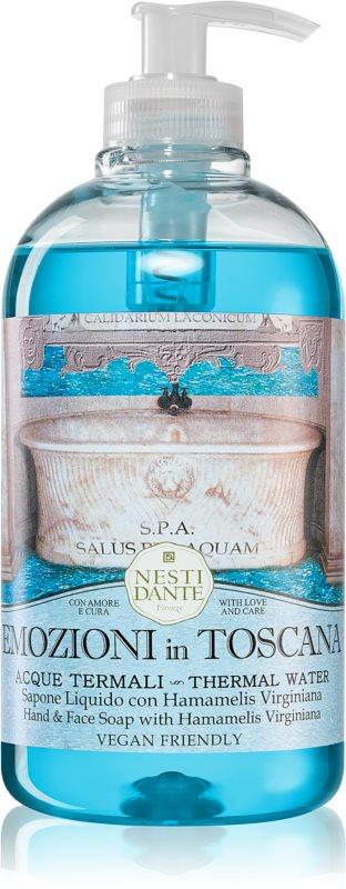 Nesti Dante Emozioni in Toscana Thermal Water tekoče milo za roke