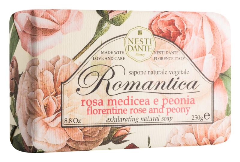 Nesti Dante Romantica Florentine Rose and Peony přírodní mýdlo