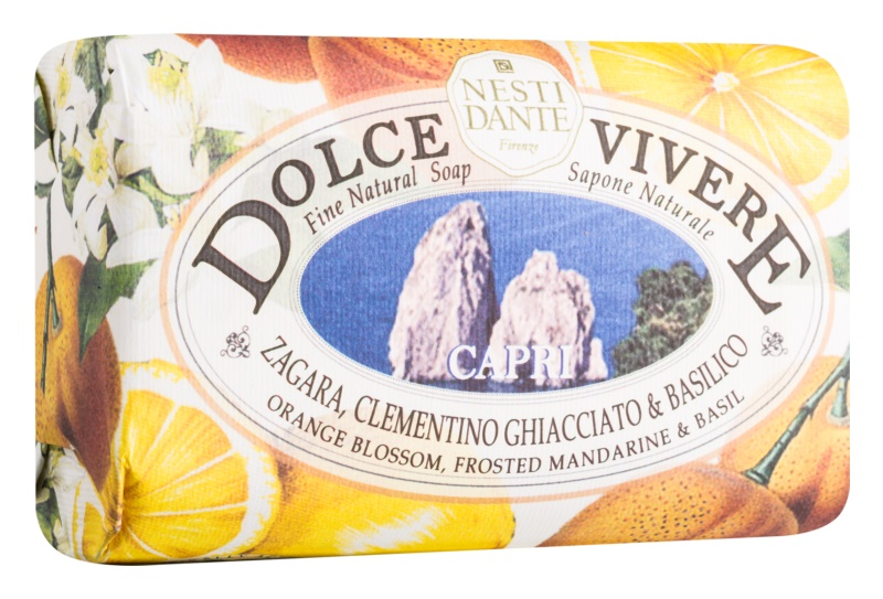 Nesti Dante Dolce Vivere Capri prírodné mydlo