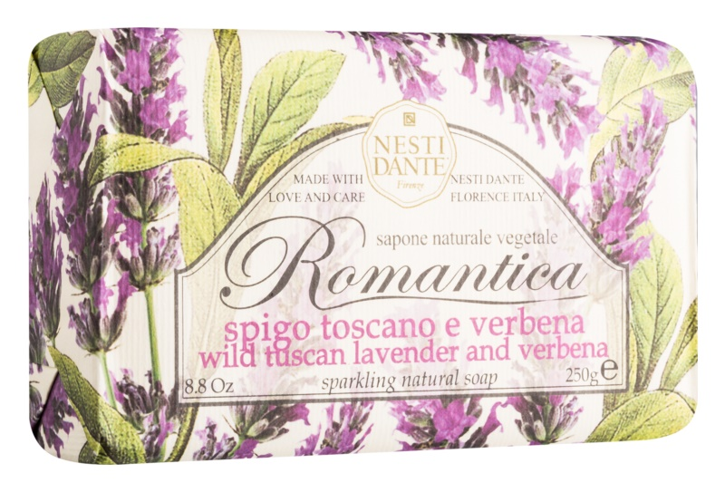 Nesti Dante Romantica Wild Tuscan Lavender and Verbena Natural Soap