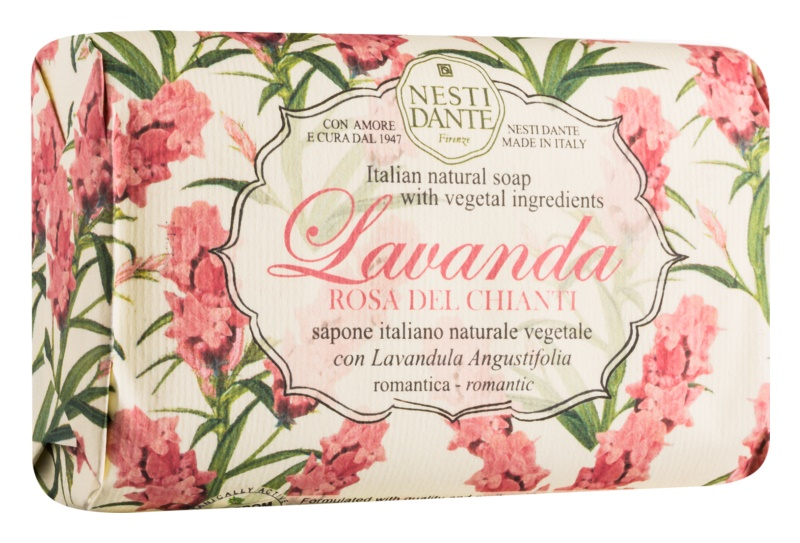 Nesti Dante Lavanda Rosa del Chianti prírodné mydlo