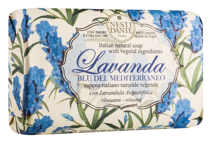 Nesti Dante Lavanda Blu del Mediterraneo naravno milo