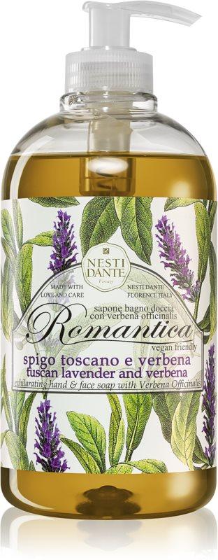 Nesti Dante Romantica Wild Tuscan Lavender and Verbena jemné tekuté mydlo na ruky