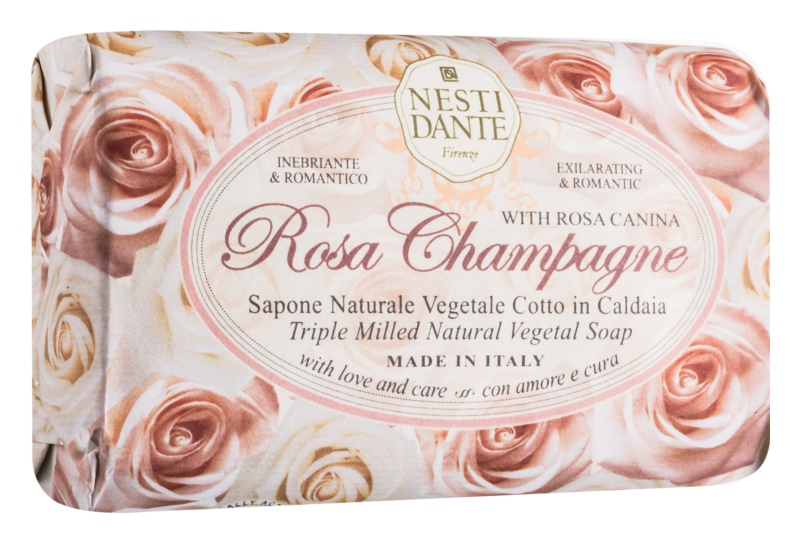 Nesti Dante Rose Champagne Natural Soap
