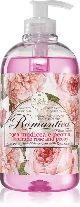 Nesti Dante Romantica Florentine Rose and Peony Hand Soap