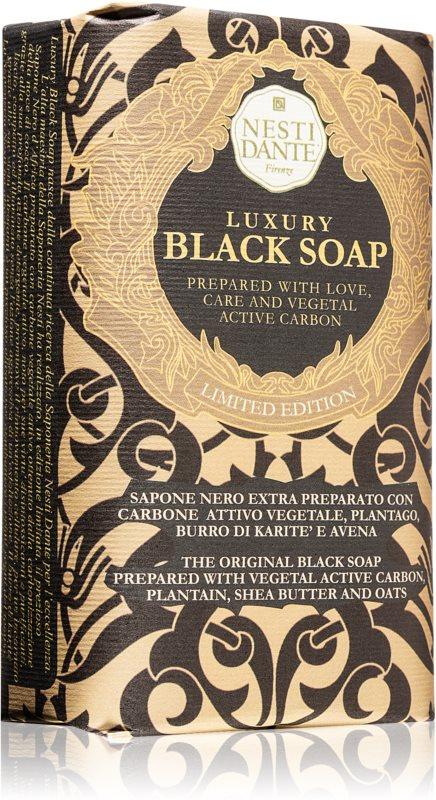 Nesti Dante Luxury Black Soap črno milo
