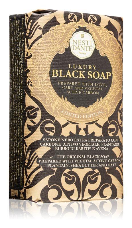 Nesti Dante Luxury Black Soap чорне мило