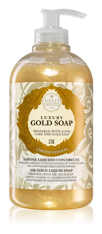 Nesti Dante Gold Hand Soap With Pump