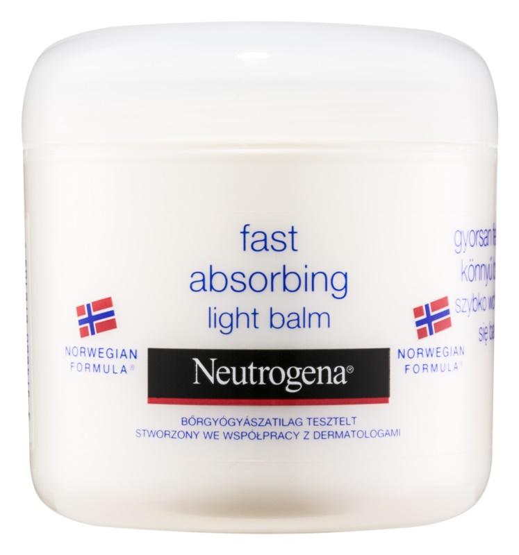 Neutrogena Norwegian Formula® Deep Moisture бальзам для тіла, який швидко поглинається шкірою