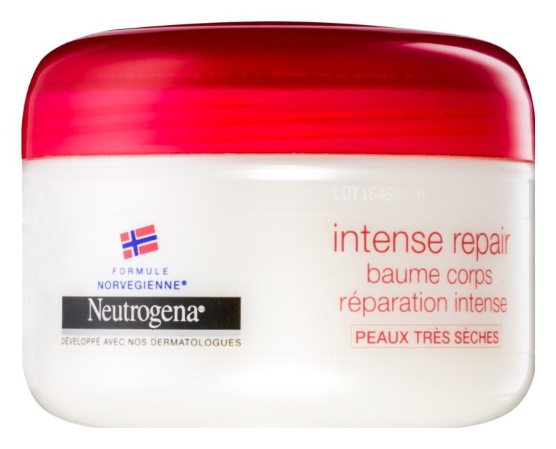 Neutrogena Norwegian Formula® Intense Repair intenzivní regenerační tělový balzám pro velmi suchou pokožku