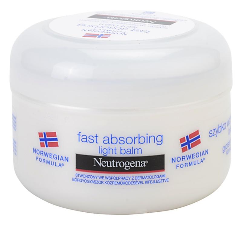 Neutrogena Norwegian Formula® Fast Absorbing rýchlo sa vstrebávajúci telový balzam pre normálnu pokožku