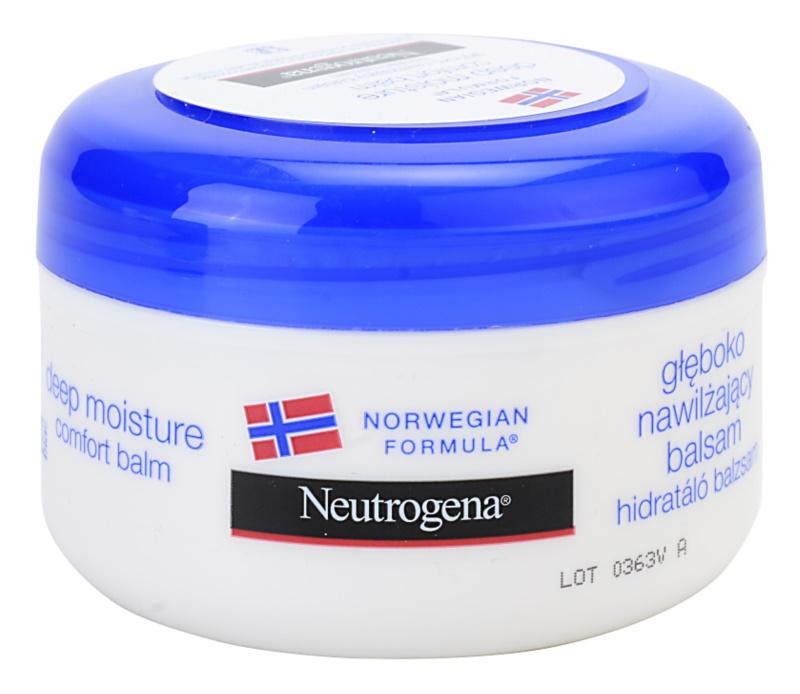 Neutrogena Norwegian Formula® Deep Moisture bálsamo de hidratación profunda  para pieles secas