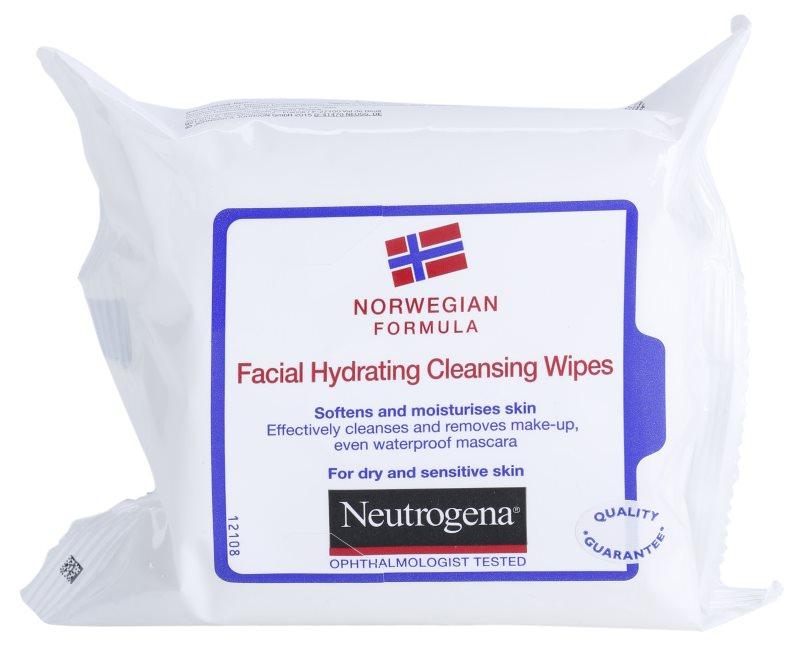 Neutrogena Face Care čistiace utierky pre suchú až citlivú pleť