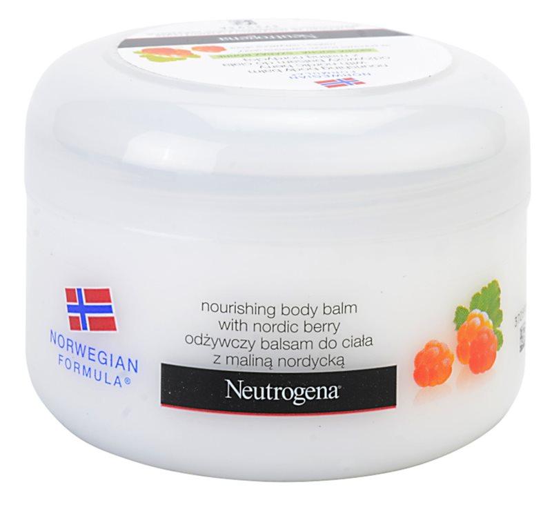 Neutrogena Norwegian Formula® Nordic Berry подхранващ балсам за тяло за суха кожа
