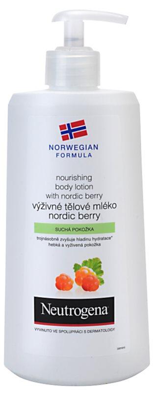 Neutrogena Norwegian Formula® Nordic Berry lotiune de corp hranitoare pentru piele uscata