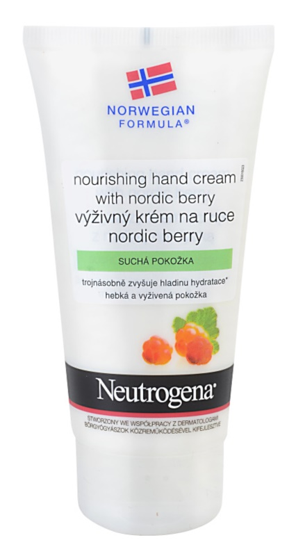 Neutrogena Norwegian Formula® Nordic Berry crema nutritiva de maini