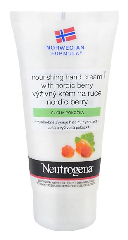 Neutrogena Norwegian Formula® Nordic Berry výživný krém na ruky