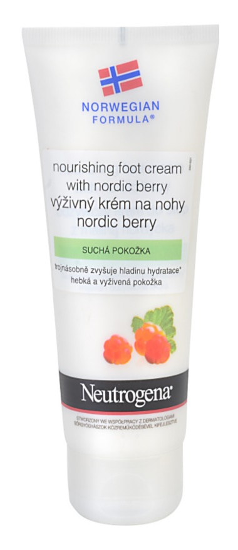 Neutrogena Norwegian Formula® Nordic Berry nährende Crem für Füssen