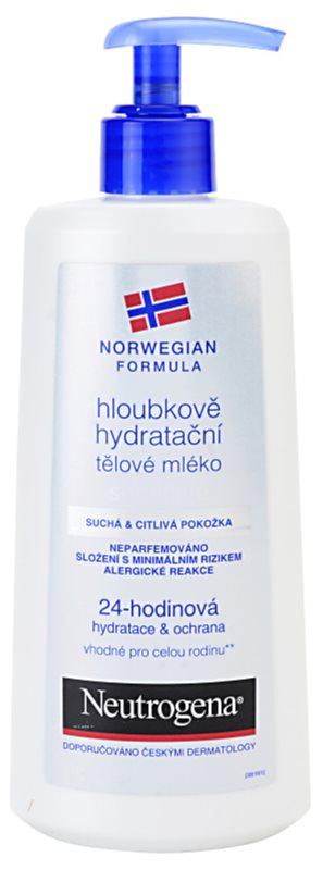 Neutrogena Norwegian Formula® Deep Moisture lotiune de corp intens hidratanta pentru piele uscata si sensibila