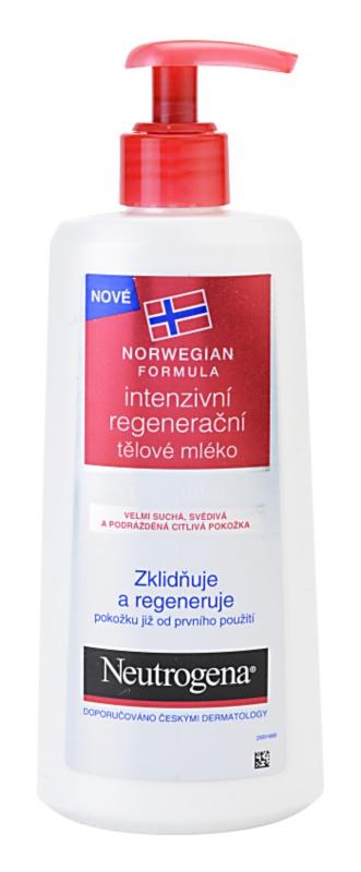 Neutrogena Norwegian Formula® Intense Repair intenzívne regeneračné telové mlieko pre suchú a citlivú pokožku