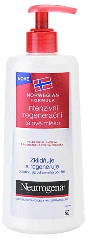 Neutrogena Norwegian Formula® Intense Repair regenerierende Intensiv-Bodymilk für trockene und empfindliche Haut