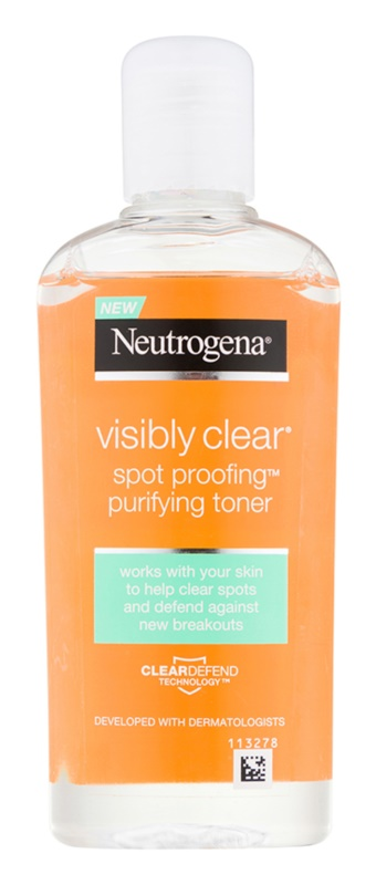 Neutrogena Visibly Clear Spot Proofing tónico micelar limpiador