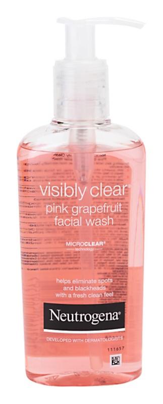 Neutrogena Visibly Clear Pink Grapefruit emulsie pentru spalare