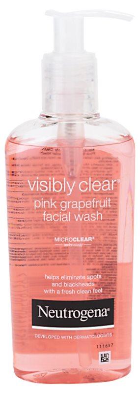Neutrogena Visibly Clear Pink Grapefruit umývacia emulzia