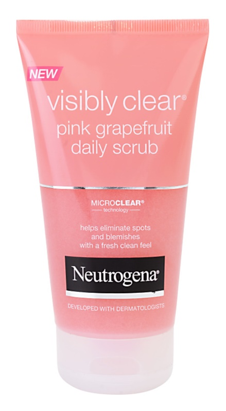 Neutrogena Visibly Clear Pink Grapefruit exfoliante