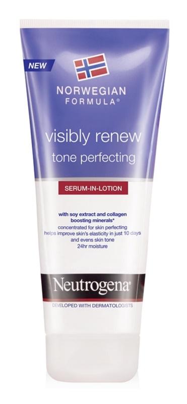 Neutrogena Norwegian Formula® Visibly Renew ser pentru corp cu efect de perfecționare