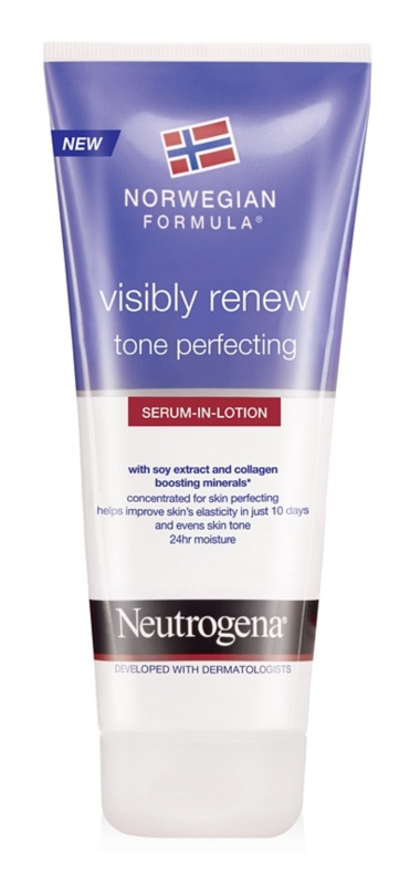 Neutrogena Norwegian Formula® Visibly Renew сироватка для тіла