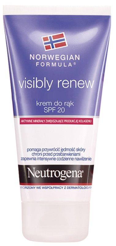Neutrogena Norwegian Formula® Visibly Renew crème mains