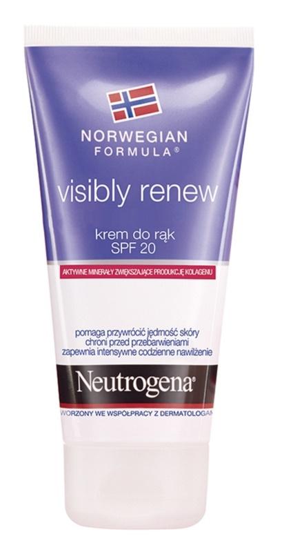 Neutrogena Norwegian Formula® Visibly Renew krema za roke