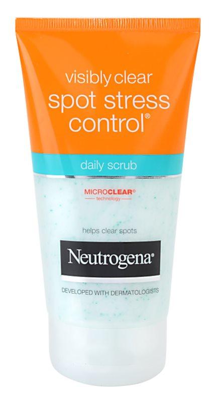 Neutrogena Visibly Clear Spot Stress Control peeling pro každodenní použití