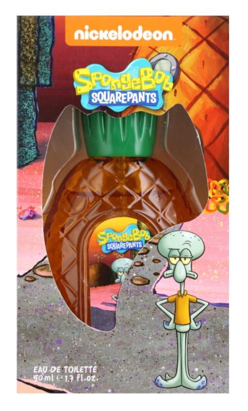 Nickelodeon Spongebob Squarepants Squidward eau de toilette gyermekeknek 50 ml