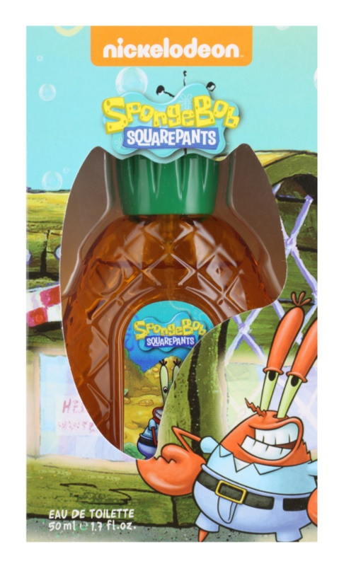 Nickelodeon Spongebob Squarepants Mr. Krabs eau de toilette para niños 50 ml
